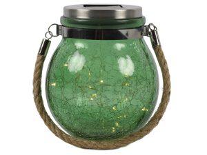 Lamp Solar LED ro Viggo groen