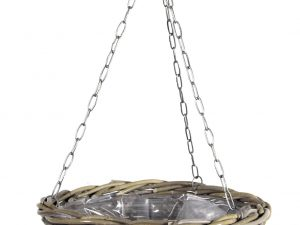 Lana Hanging Basket -F- Kubu W/Chain D40H20
