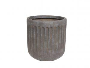 Pot Duncan taupe D22 H22