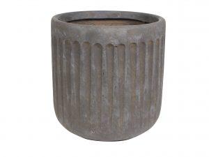 Pot Duncan taupe D36 H37