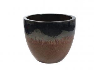 Pot Pure metal red D58 H50