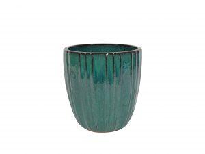 Pot Scott ocean blue D33 H35