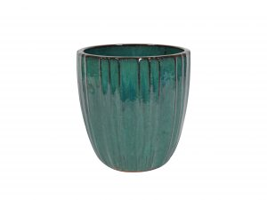 Pot Scott ocean blue D43 H44